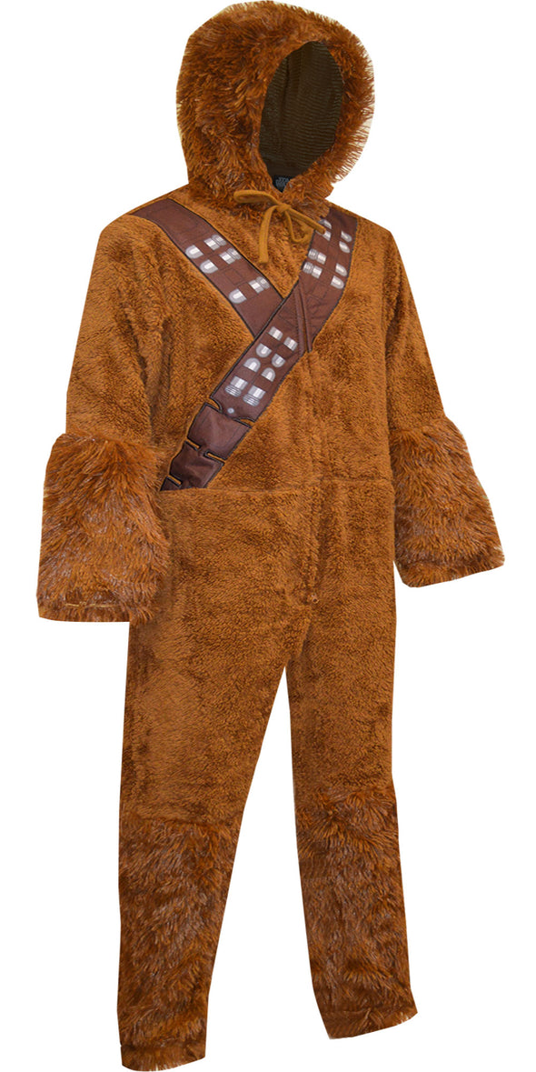 Star Wars Look Like Chewbacca Hooded Union Suit Pajama