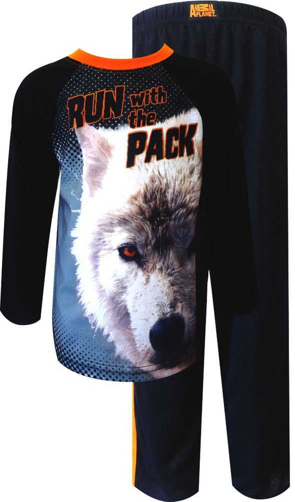 Run with the Wolf Pack Toddler Pajama 2T