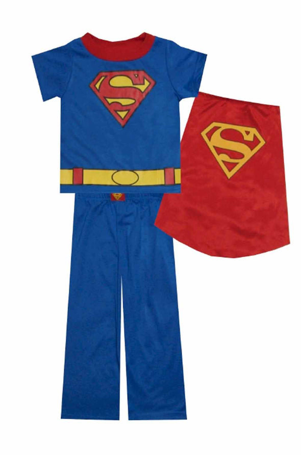 Superman - Detachable Cape Short Sleeve PJ