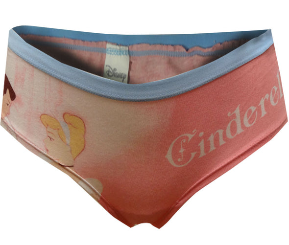 Disney's Cinderella and Prince Charming Pink Panty