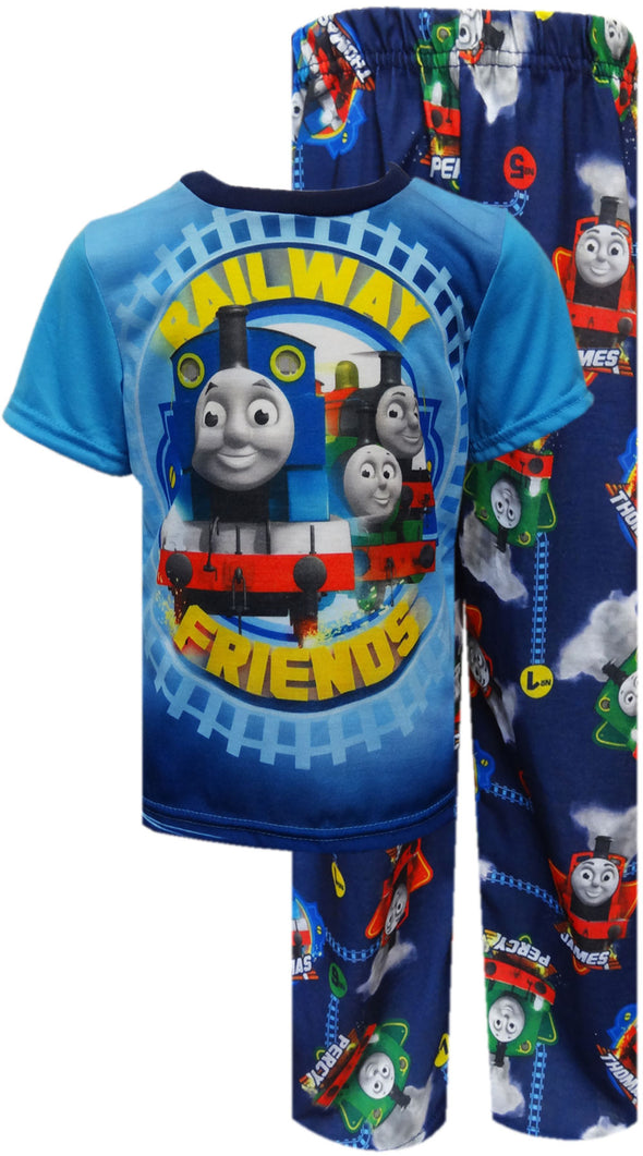 Thomas the Tank Engine Railway Friends Toddler Pajamas