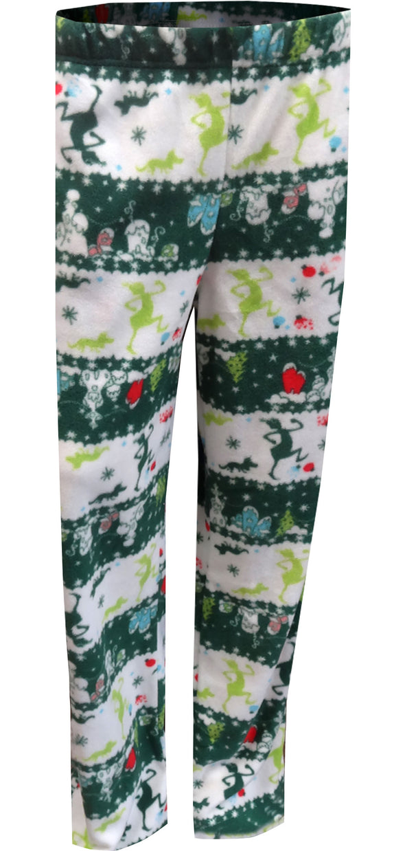 The Grinch Coming To Town Fair Isle Adult Lounge Pants