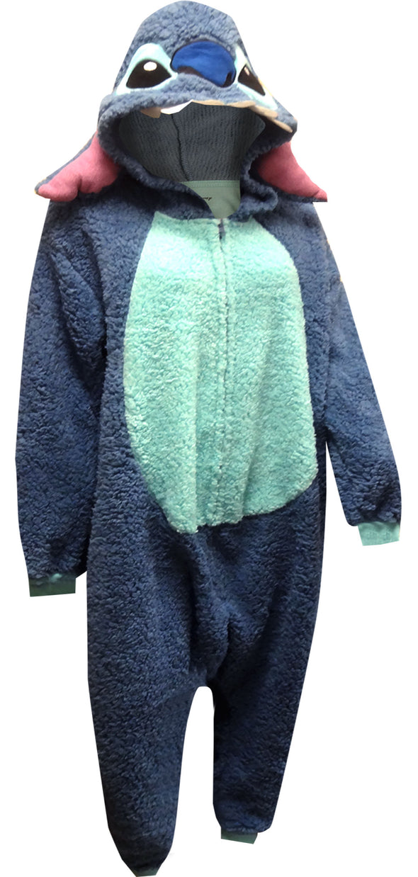 Lilo and Stitch Dress Like Stitch One Piece Costume Pajama