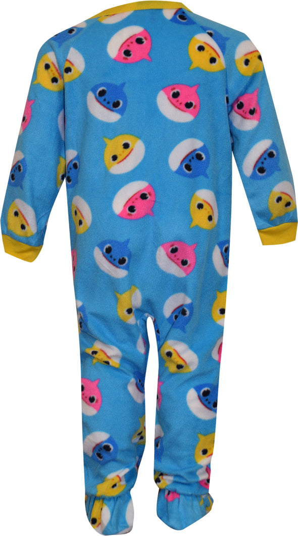 Baby Shark Infant Blanket Sleeper Footie Pajama
