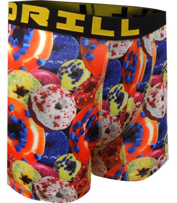 Go Nuts for Donuts Performance Boxer Briefs