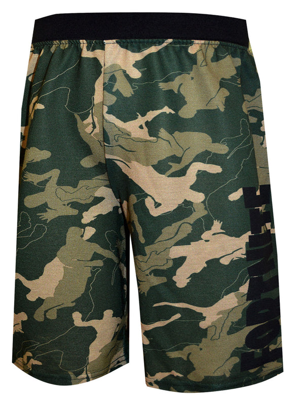 Fortnite Victory Dance Camo Sleep Shorts