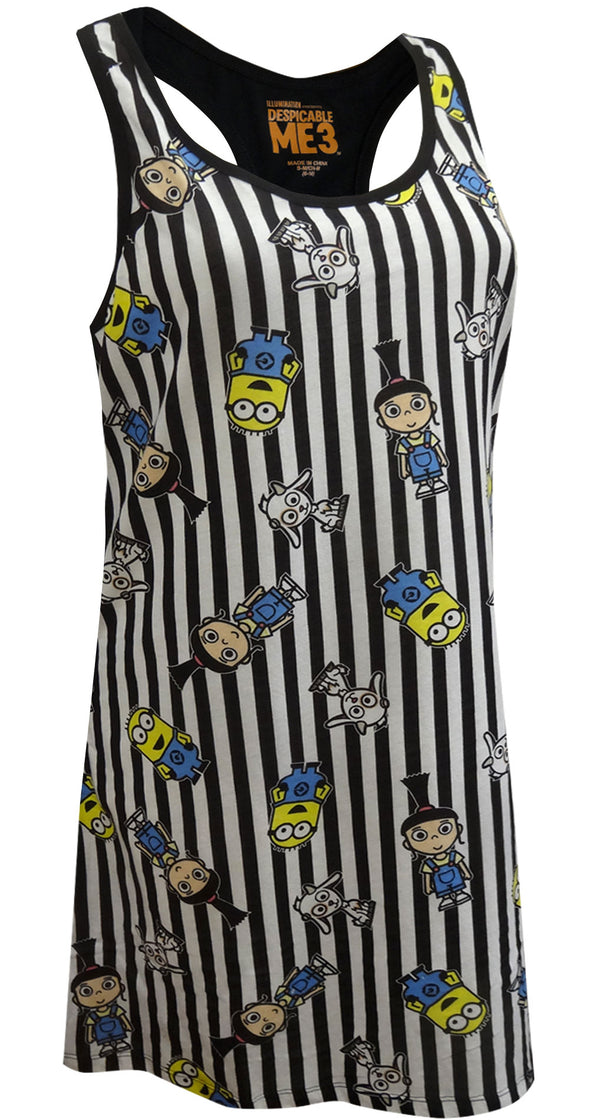 Despicable Me Minions and Agnes Tank Style Nightgown