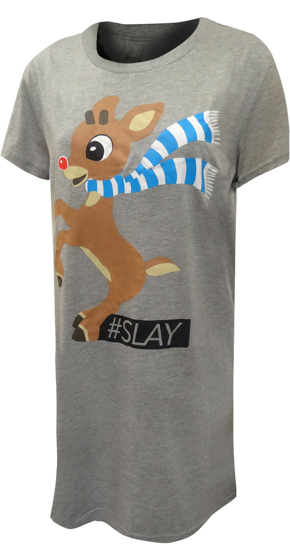 Rudolph The Red-Nosed Reindeer Plus Size Nightshirt