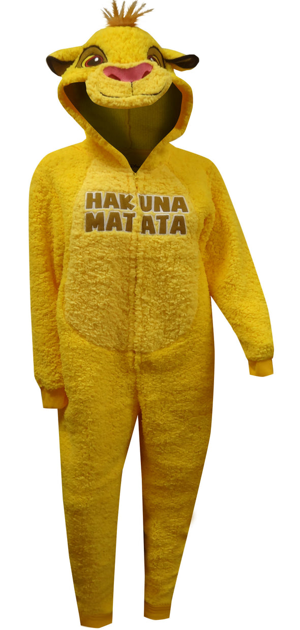 Lion King Simba One Piece Pajama