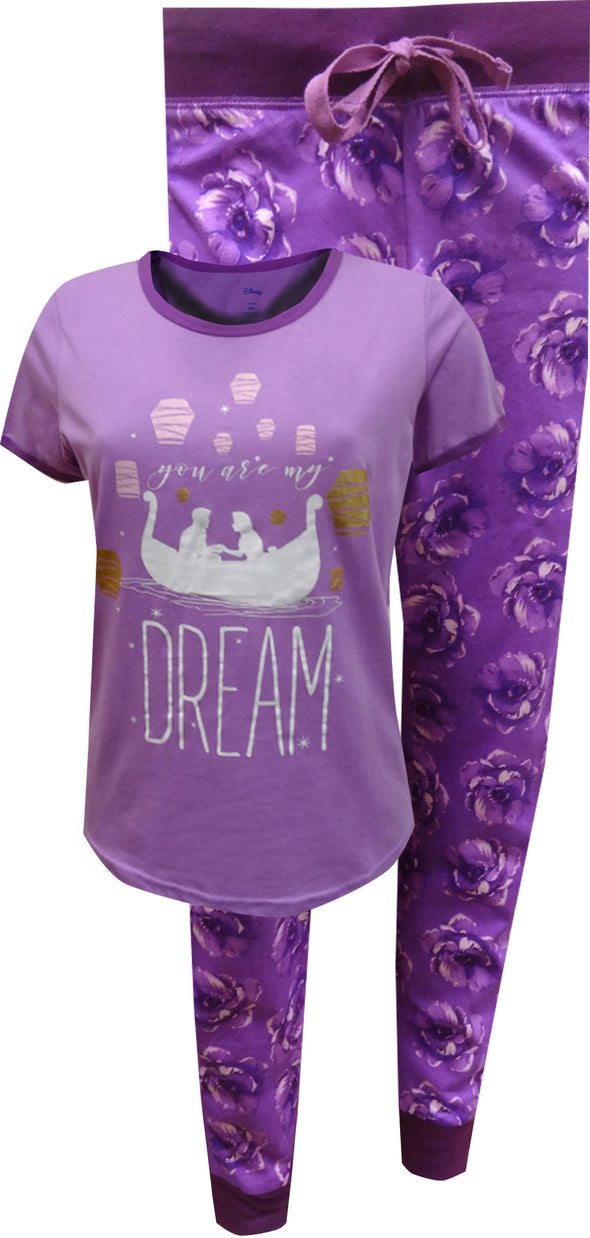 Tangled Rapunzel You Are My Dream Jogger Pajama