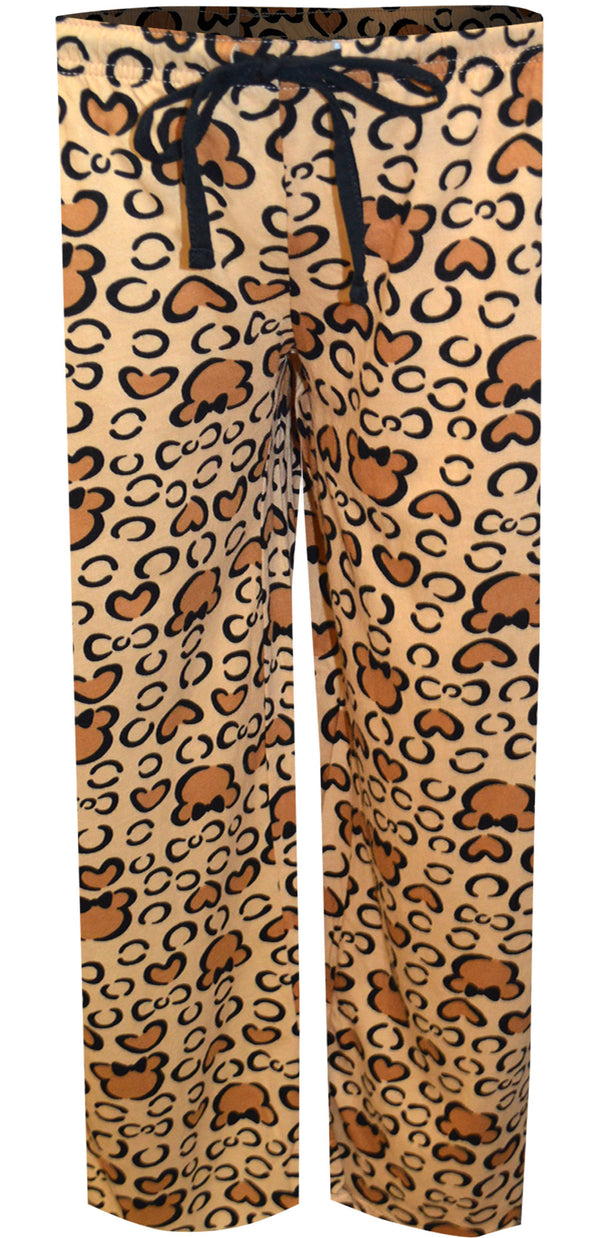 Disney's Minnie Mouse Leopard Print Lounge Pants