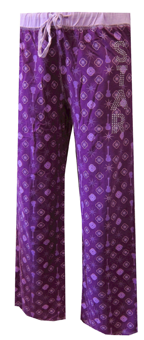 Dancers Star Power Purple Junior Cut Lounge Pant
