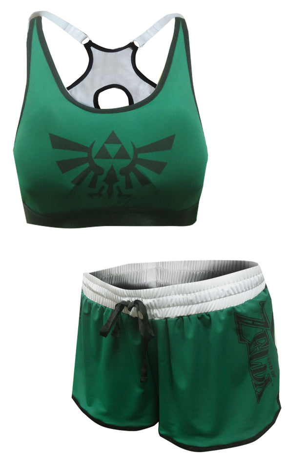 The Legend of Zelda Bra and Boxer Pajama Set