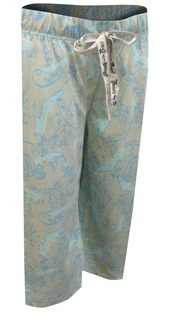 Disney's Cinderella Glass Slipper at Midnight Cropped Pants