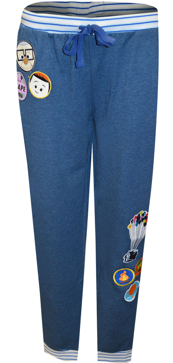 Disney Pixar Up Movie Jogger Style Lounge Pants