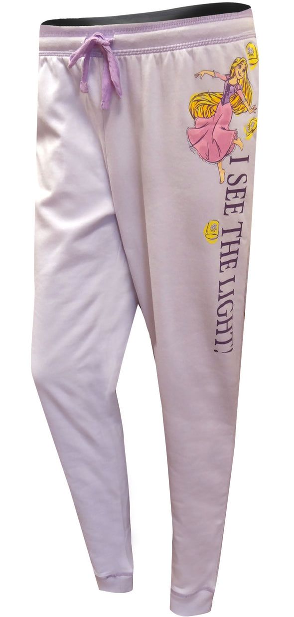 Tangled Rapunzel I See the Light Plus Size Jogger Lounge Pants