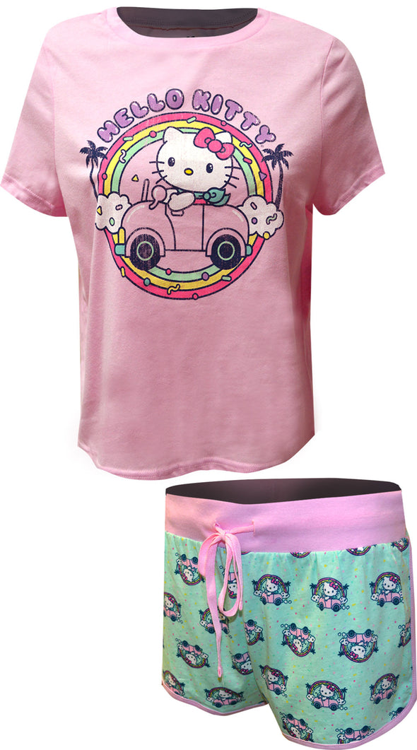Hello Kitty Vacation Vibes Shortie Pajamas