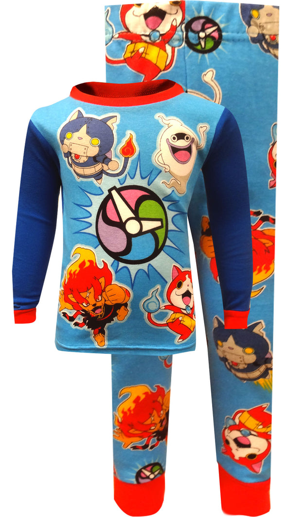 Yo-Kai Watch Characters Cotton Pajamas