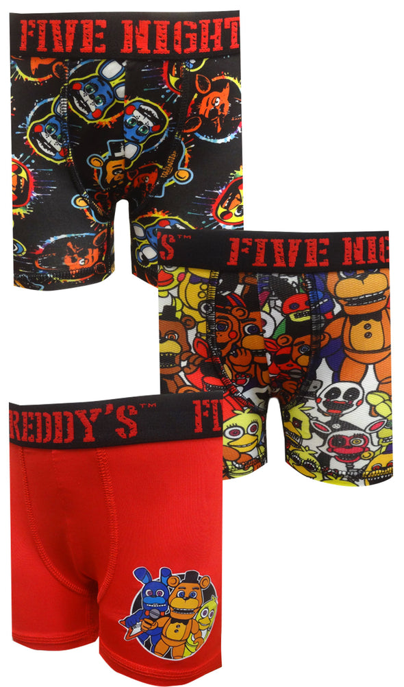 Five Nights at Freddy's 3 Pack Boxer Briefs