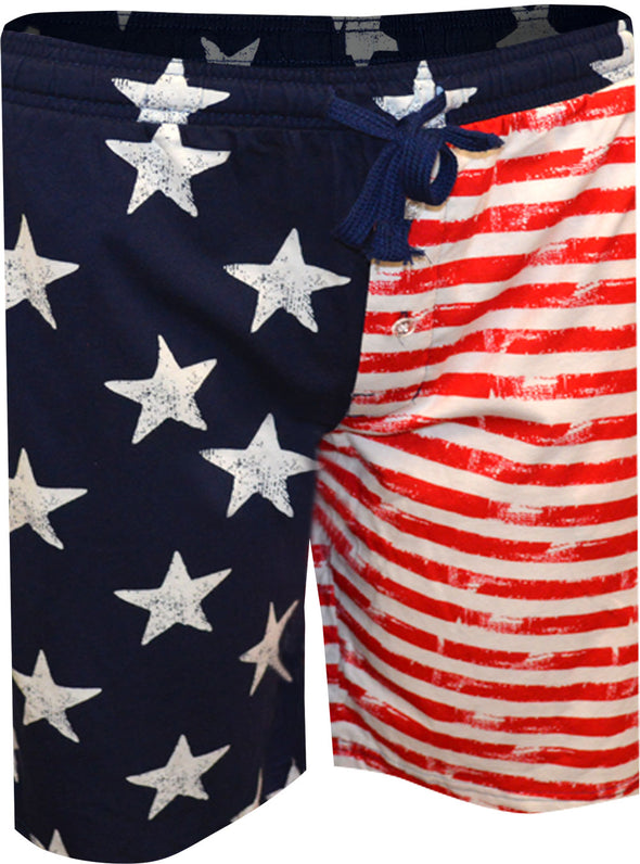 All American Flag Lounge Shorts