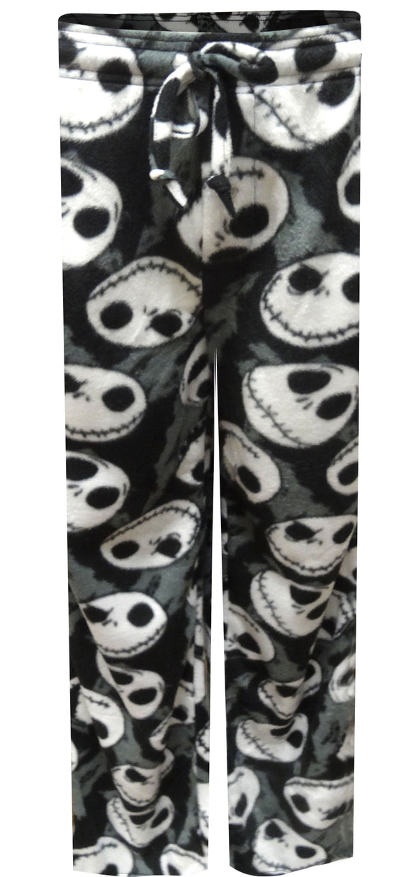 Nightmare Before Christmas Jack Skellington Fleece Lounge Pant