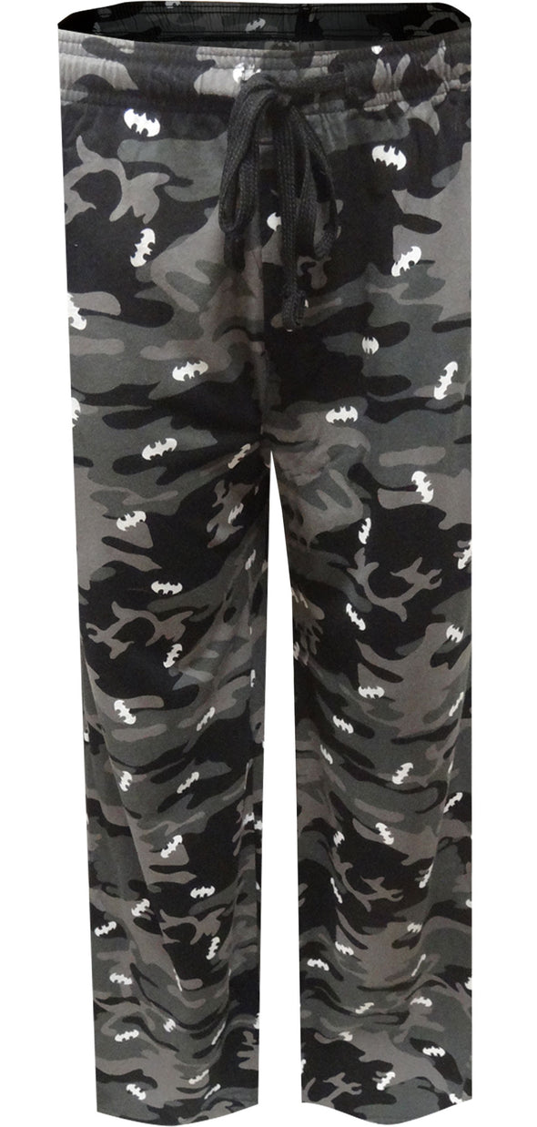 Batman Classic Bat Logo Camo Lounge Pants