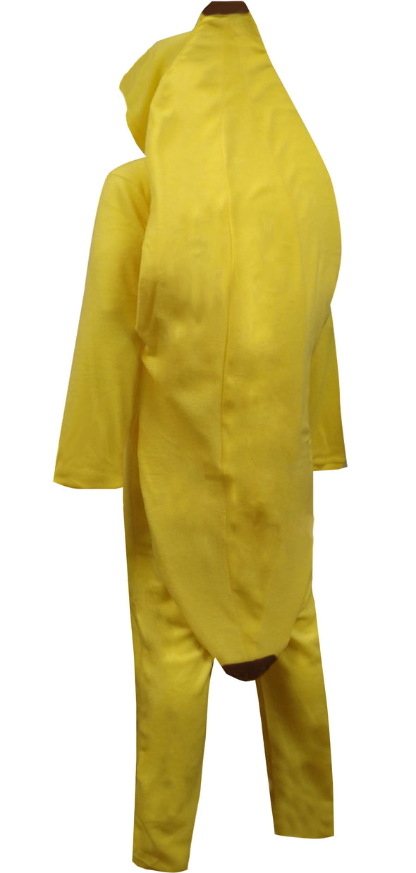 Big Yellow Banana Hooded Onesie Pajama