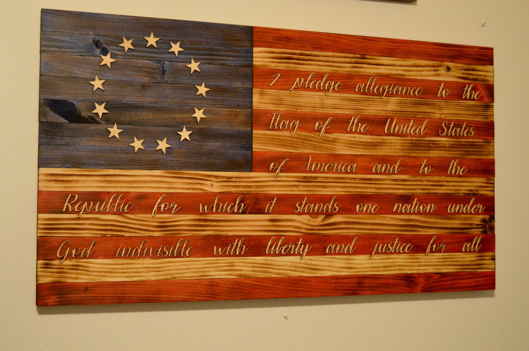 Pledge of Allegiance American Flag