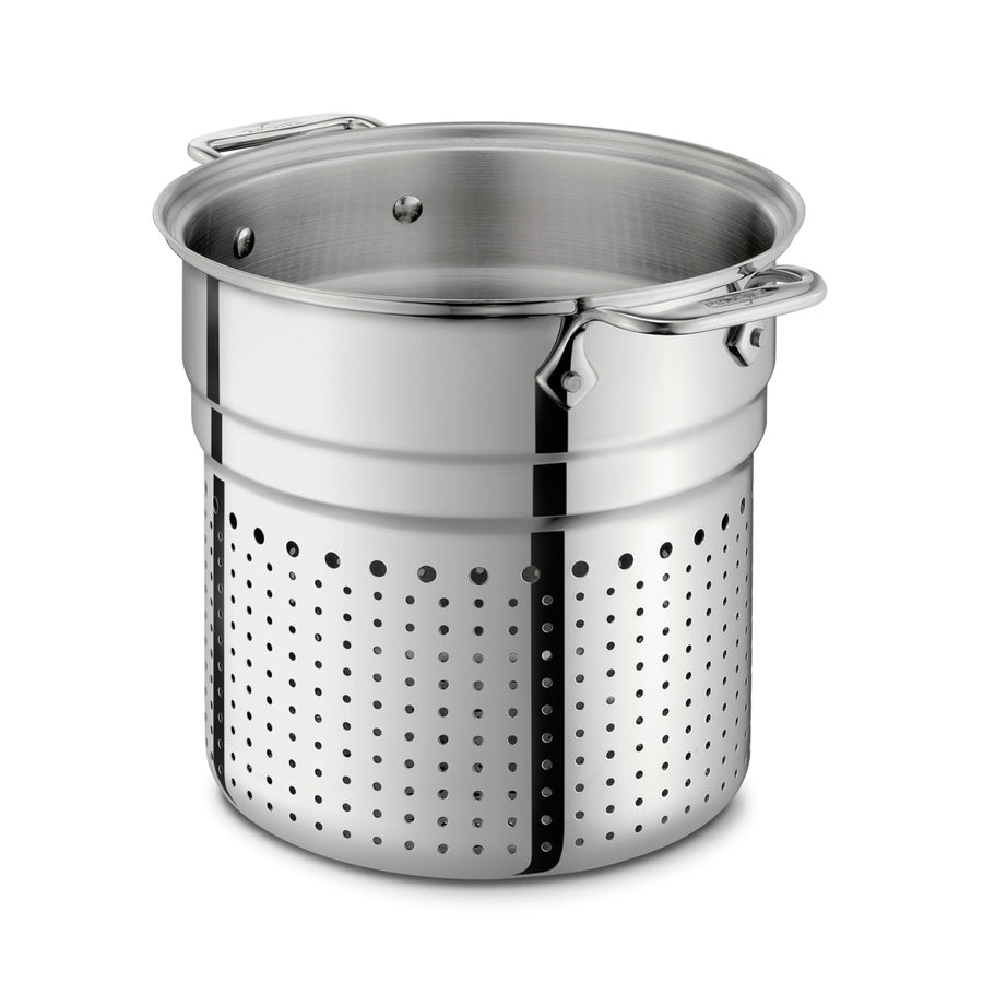 All-Clad Copper Core Stock Pot & Pasta Insert with Lid 24cm / 7Qt