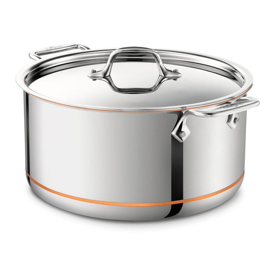 All-Clad Copper Core Stockpot with Lid 28cm / 8Qt