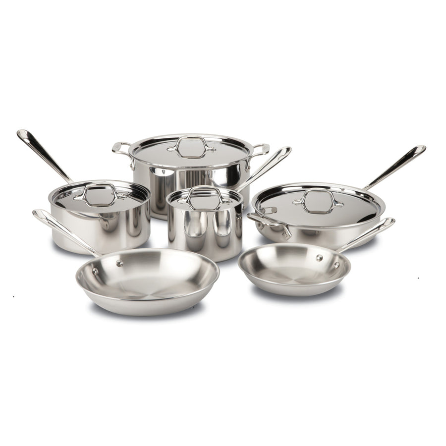 All-Clad d3 / TriPly 6 Piece Cookware Set