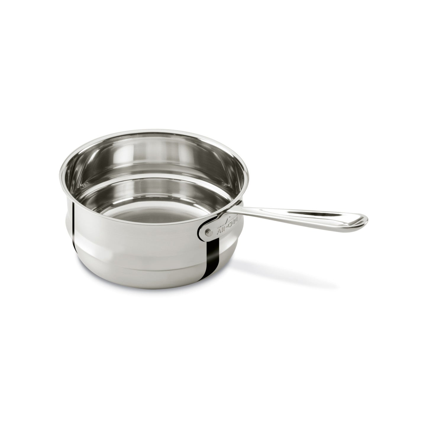 All-Clad Stainless Steel Steamer Insert with Long Handle / 3Qt
