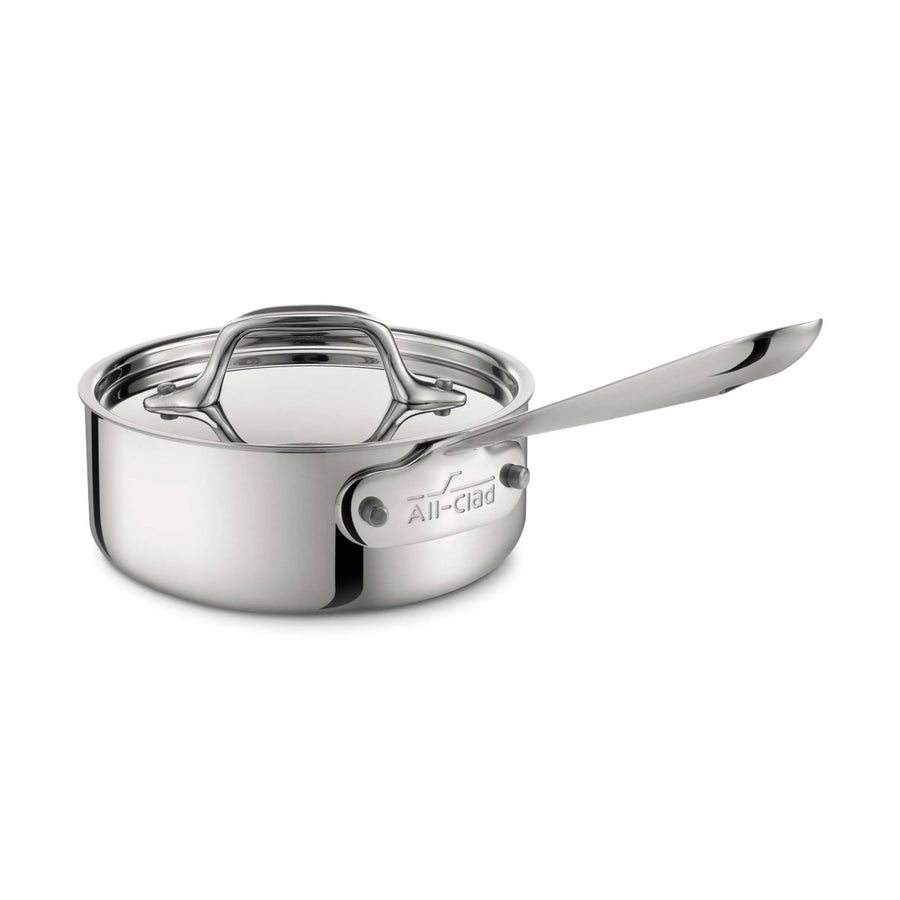 All-Clad d3 / TriPly Saucepan with Lid / 1Qt (Online Only)