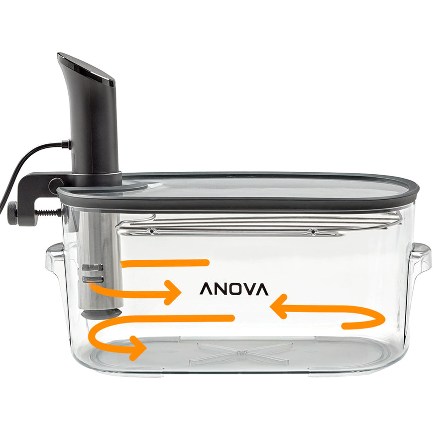 Anova Precision Cooker Container with Lid and Rack