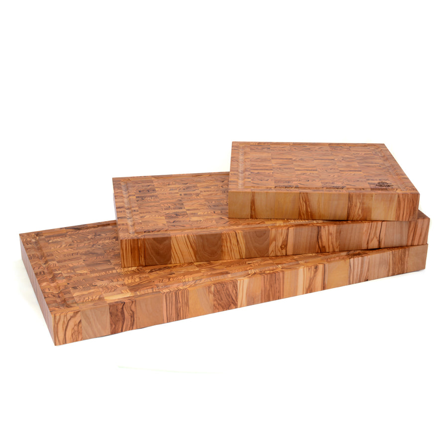 Olivewood End Grain Carving Board