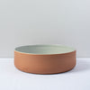 Aubagne Terracotta Bowl / Grey Pearl / 26cm