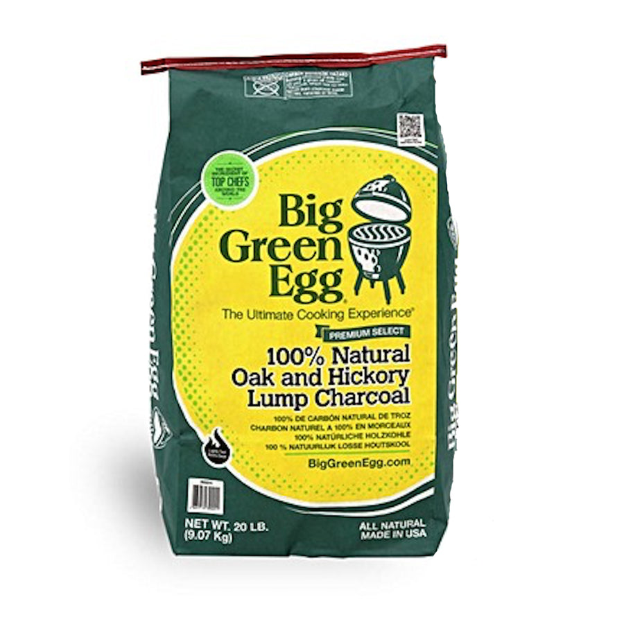 Big Green Egg Premium 100% Natural Lump Charcoal