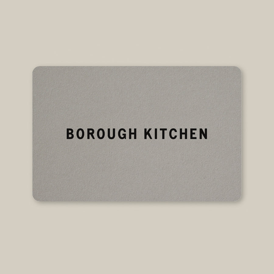 Borough Kitchen Paper Gift Card