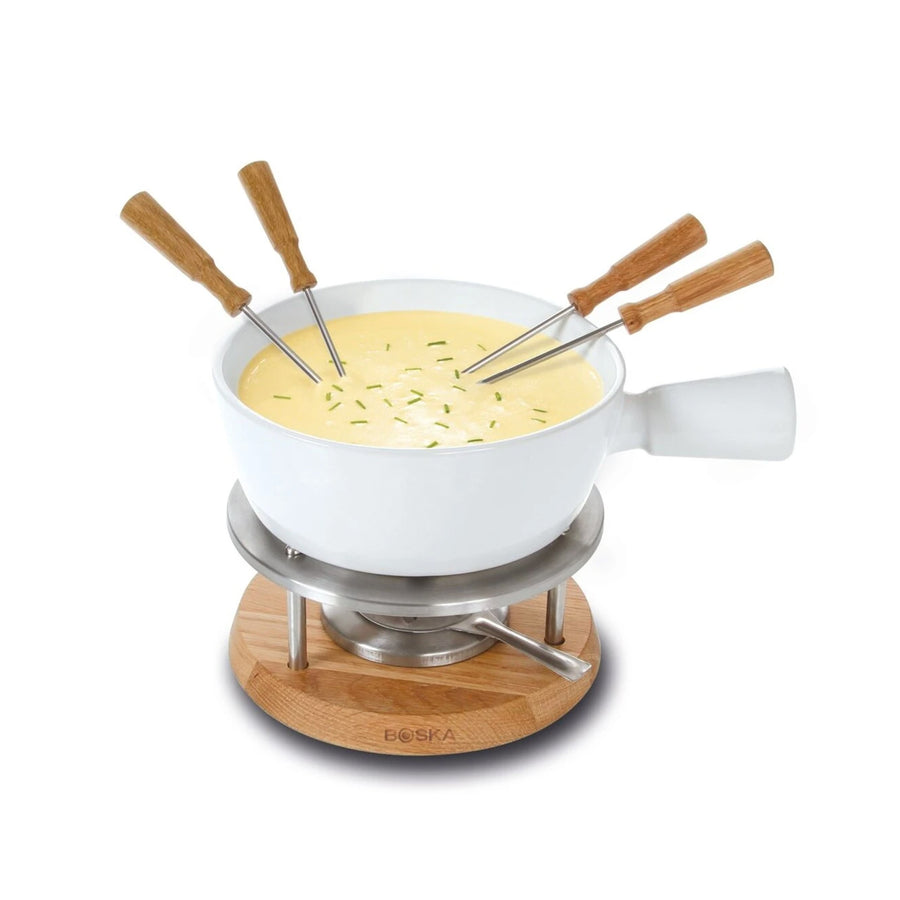 Boska Fondue Set / White / 1L