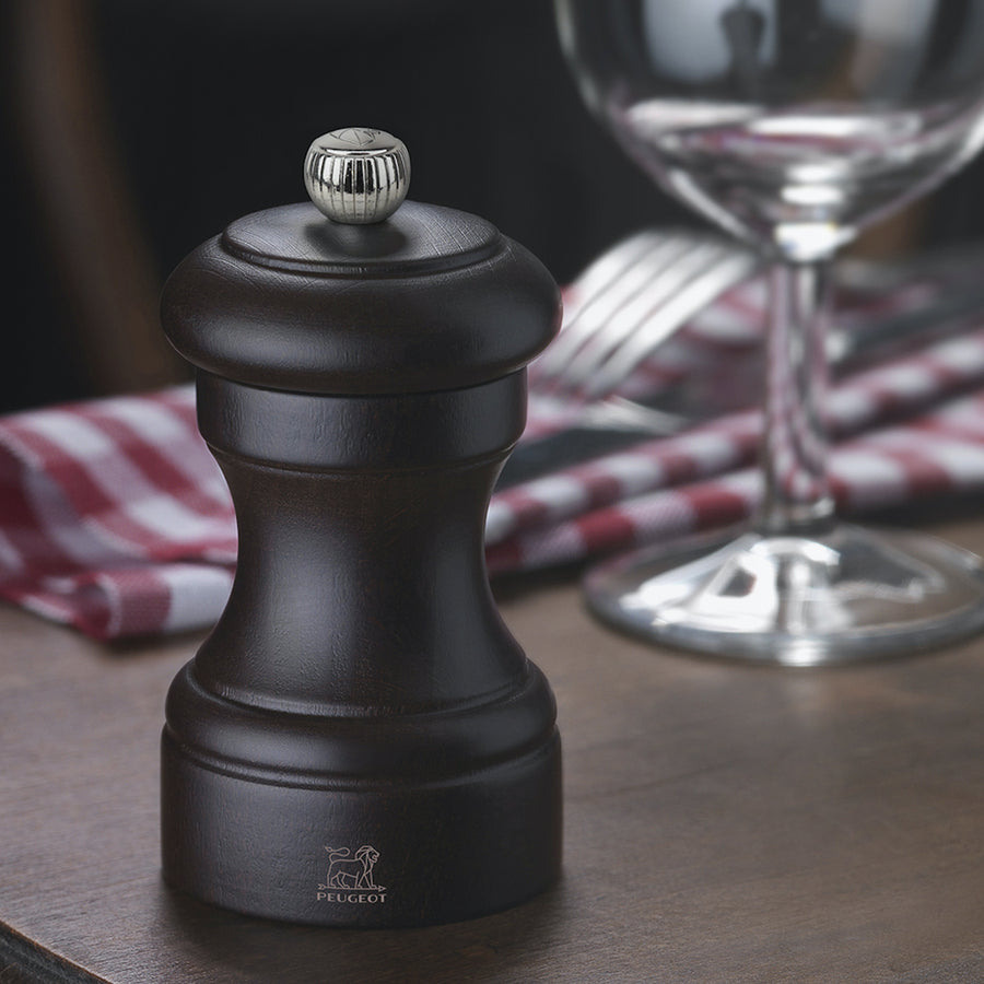Peugeot Bistro Pepper Mill / 10cm / Chocolate