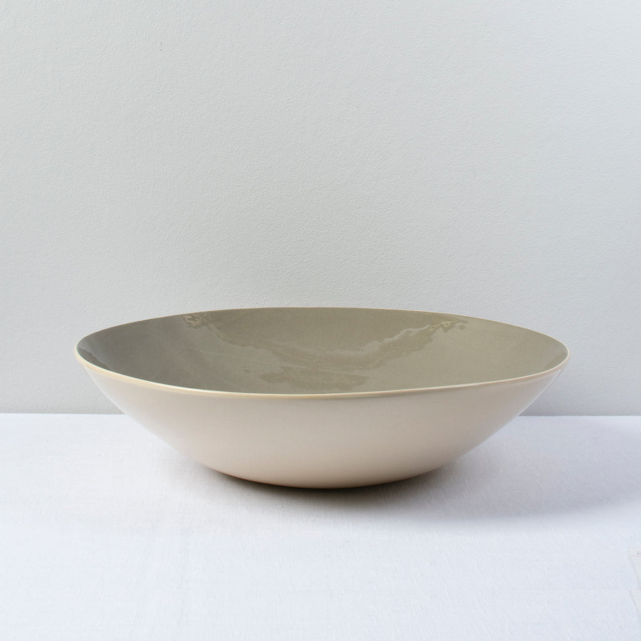Brickett Davda Large Round Bowl / 34cm / Flint