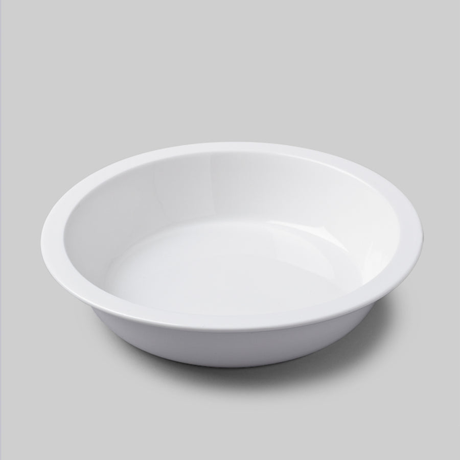 Porcelain Round Pie Dish Straight Edge / 27cm
