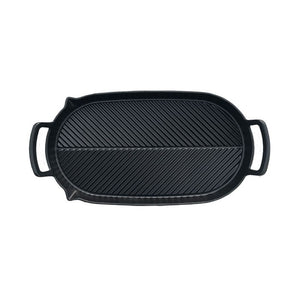 Crane C6 Herringbone Two Hob Griddle Pan