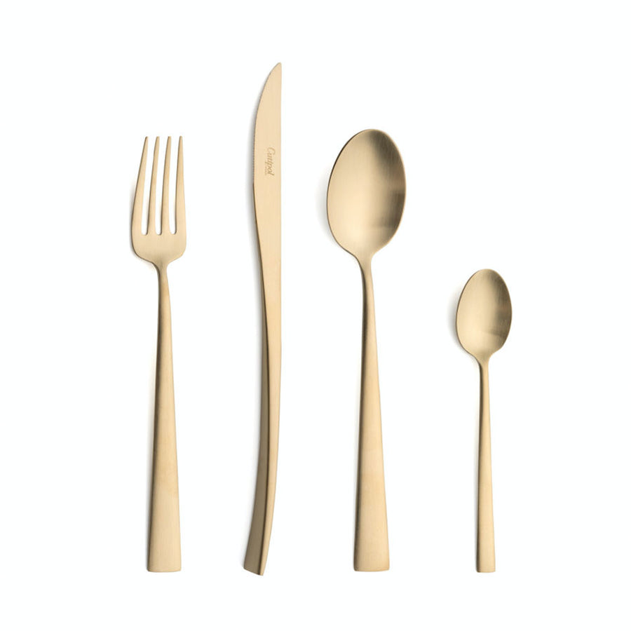 Cutipol Duna 24 Piece Cutlery Set / Brushed Champagne
