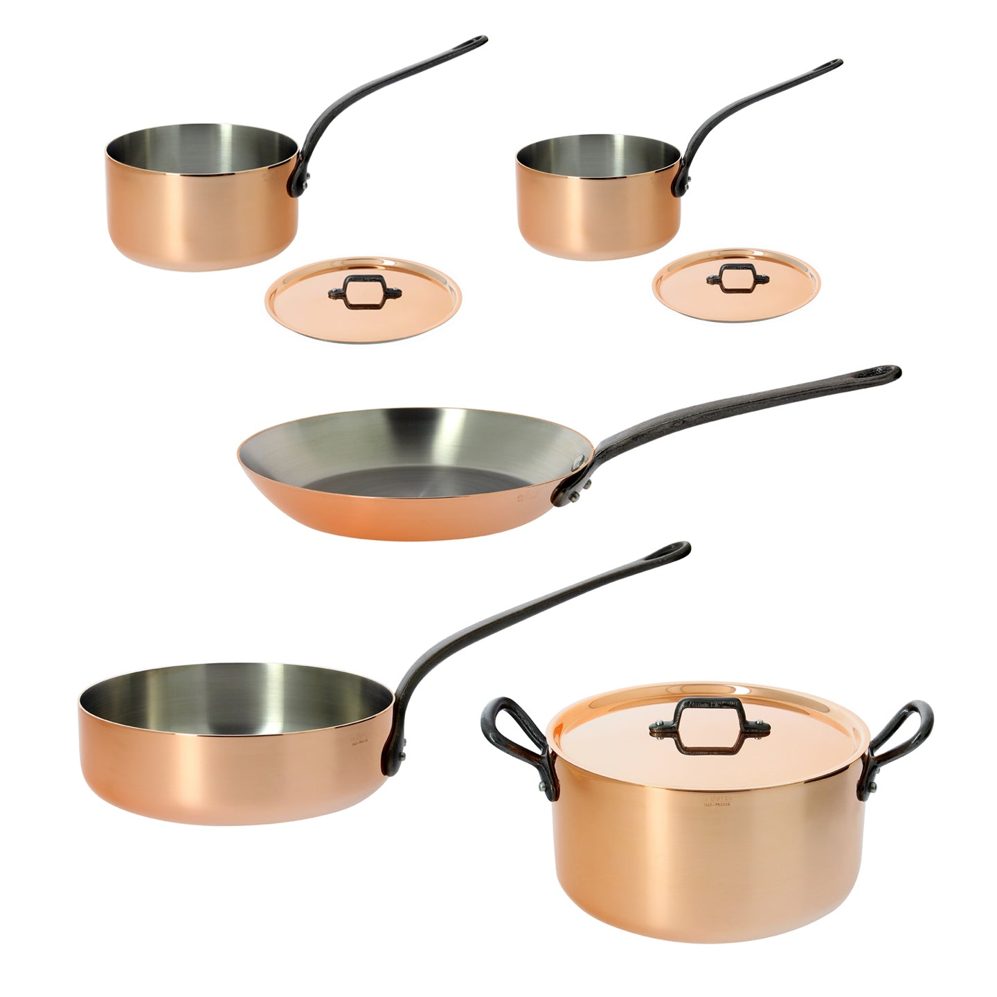 De Buyer Prima Matera Induction 5 Piece Cookware Set