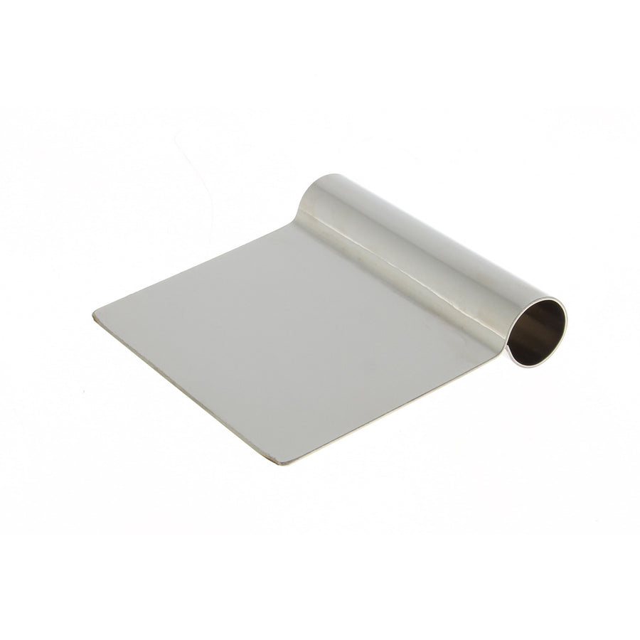 De Buyer Dough Scraper Stainless Steel / Square Edge
