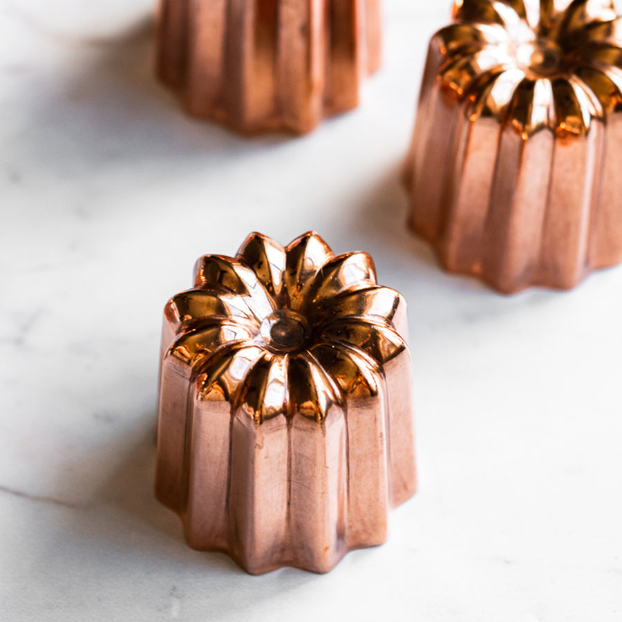 De Buyer Canele Mould Copper / 4.5cm