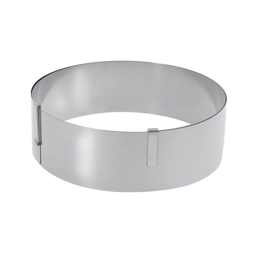 De Buyer Spring Stainless Steel Expandable Pastry Ring 6.5cm