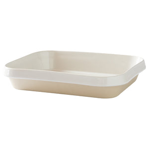 Digoin Rectangular Baking Dish Medium / 31x26x6cm / 3L / White