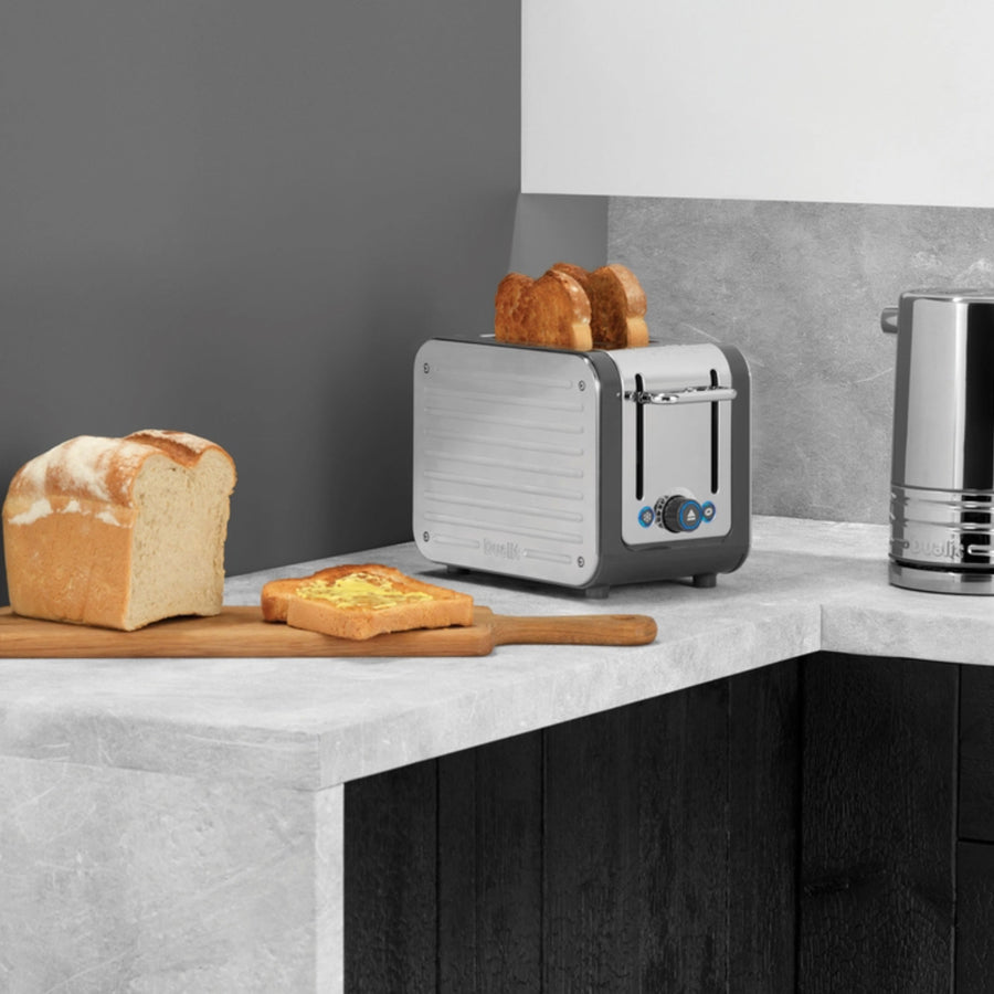 Dualit Architect Toaster / Polished / Grey Trim